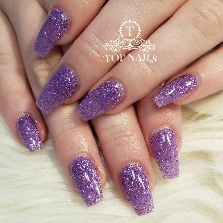 Full set SNS dip powder nails