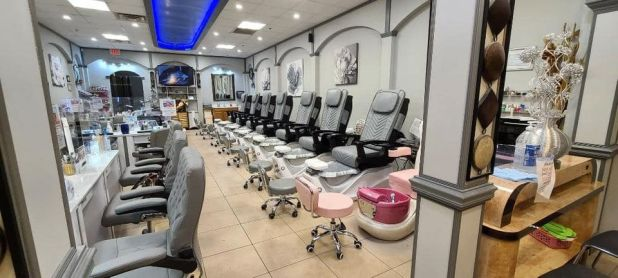 Top Nails shop remodel 2021, new chairs, new tables