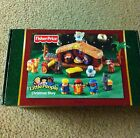 NEW FISHER PRICE LITTLE PEOPLE CHRISTMAS STORY NATIVITY TOY SET MANGER JESUS