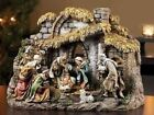 Nativity with Stable 10 Piece Set by Josephs Studio 11H