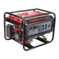 Predator 4000 Peak / 3200 Running Watts, 6.5 HP (212cc) Generator EPA III Special