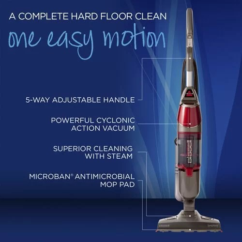 Bissell Symphony Steam Mop and Steam Vacuum