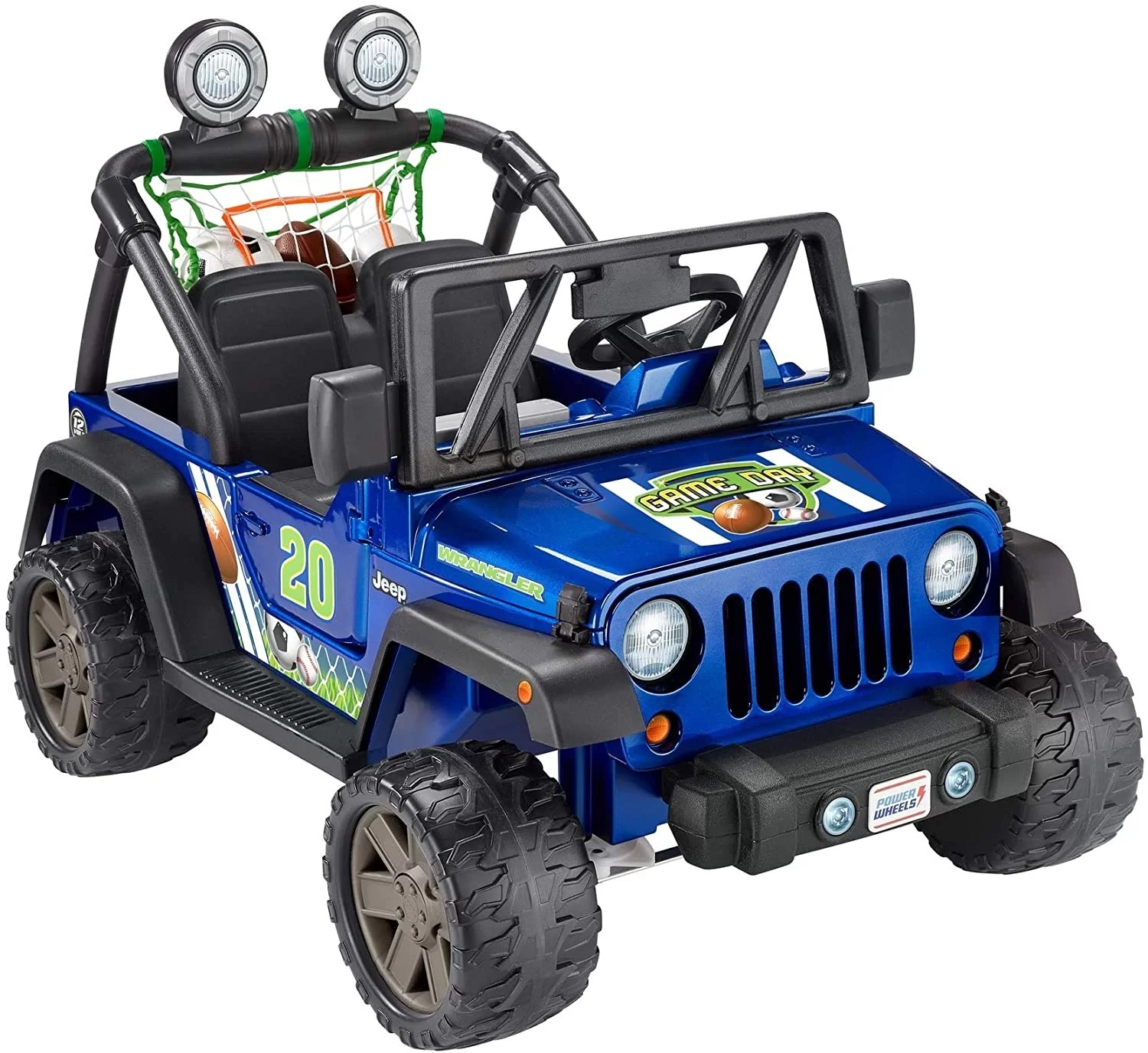 Fisher-Price Power Wheels Gameday Jeep Wrangler