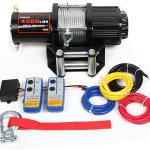 X-BULL 12V ATV /UTV Winch Kits (4500LBS Recovery with Wireless Remote control)