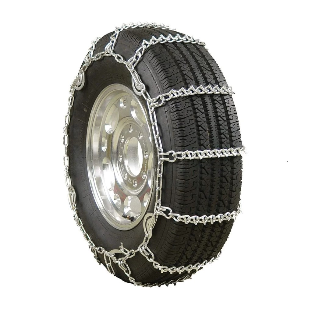V-Bar Twist Link Tire Chain by Glacier Chains for Light Trucks
