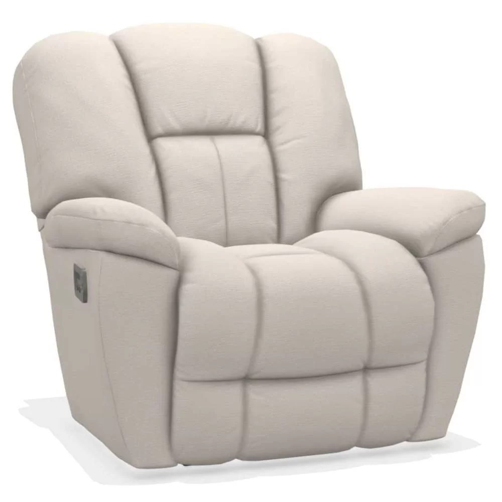 Maverick Power Rocking Recliner w Head Rest & Lumbar