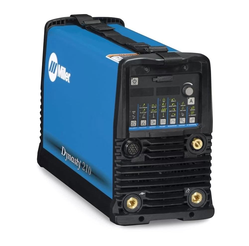 Dynasty® 210 DX 120-480 V TIG Welder (Miller electric)