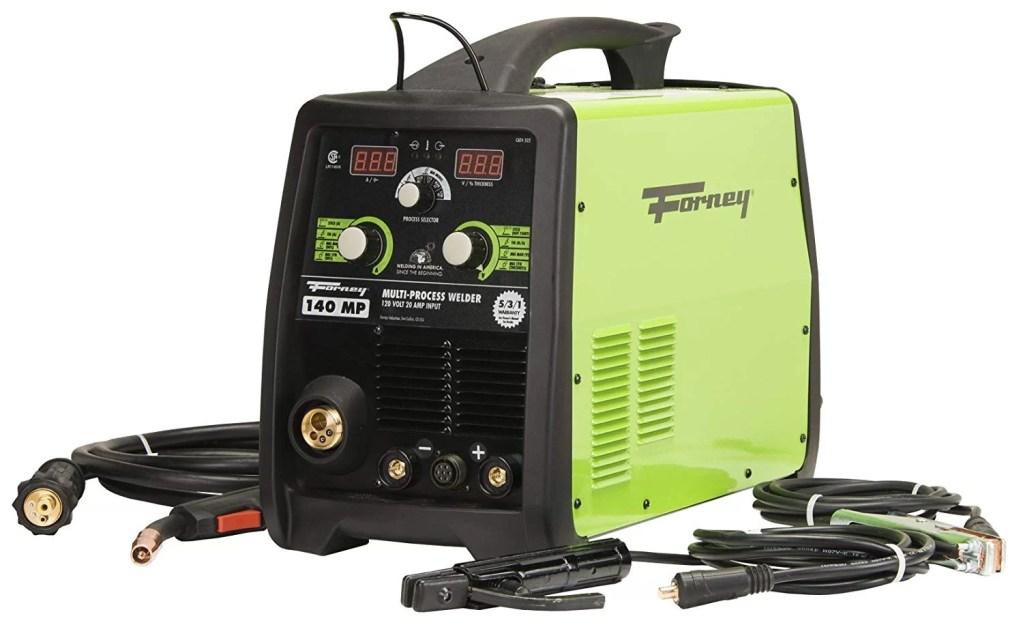 Forney 322 140-Amp MIG/Stick/TIG Multi-Process Welder, 120-Volt, Green