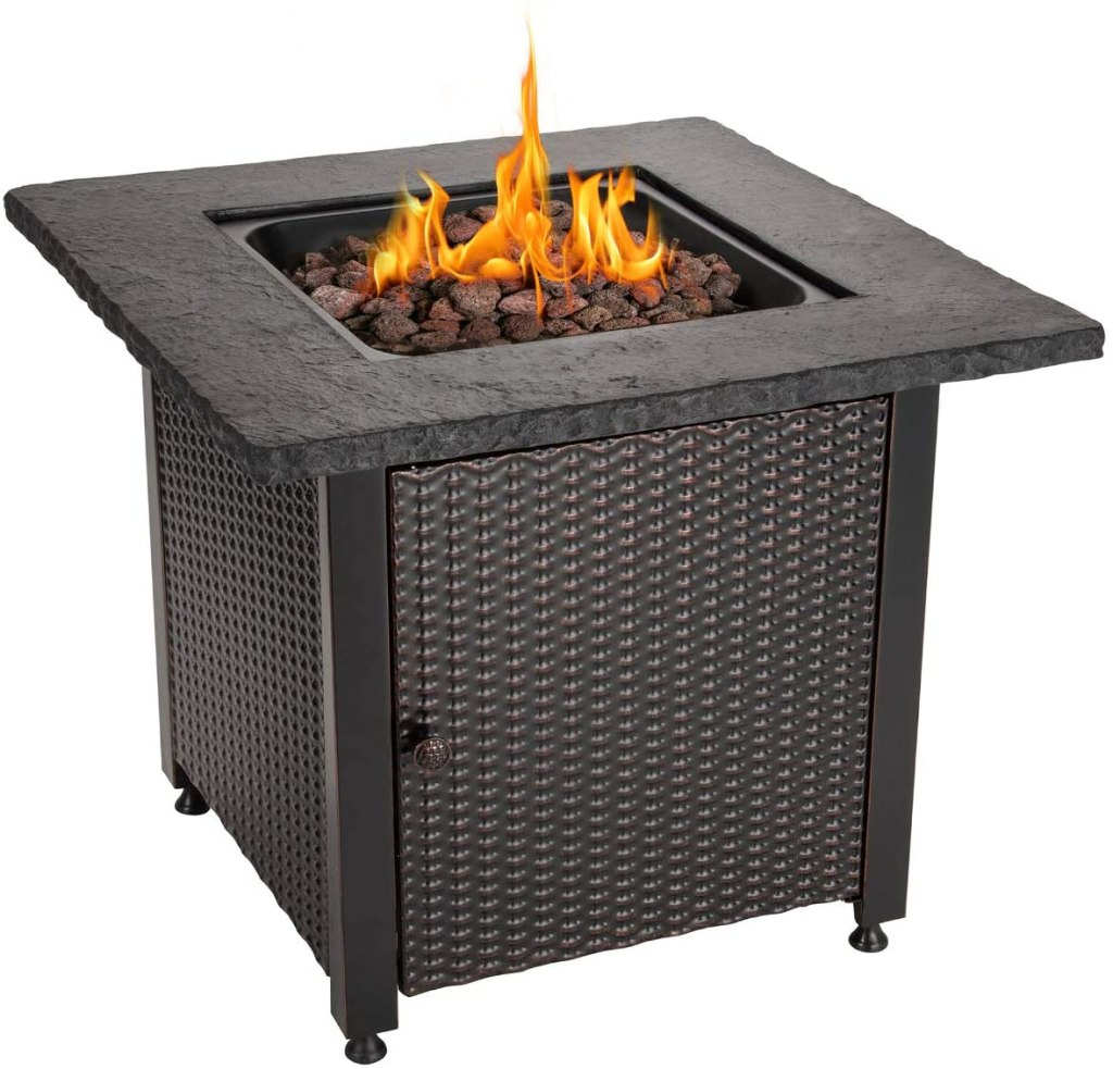 Endless Summer 30 Inch outdoor Propane Firepit Table