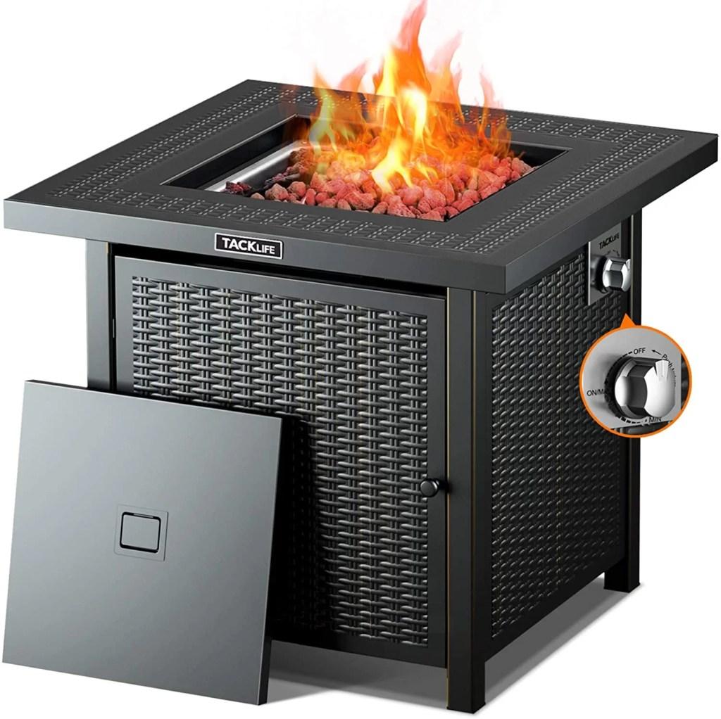 TACKLIFE 50000 BTU Firepit Table