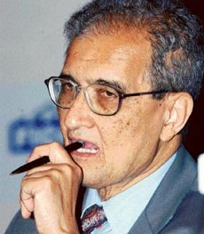 More like Amartya Sen has foot in mouth disease?