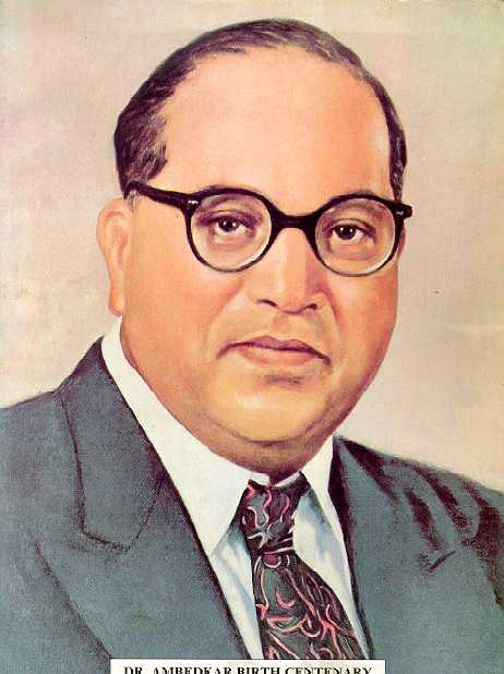 Dr.B.R. Ambedkar, The architect of Indian constitution who ensured a provision for social justice and protected the interests of the downtrodden people including untouchables