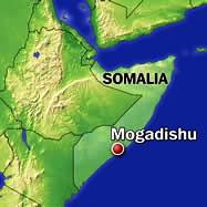 MOGADISHU-SOMALIA-MAP
