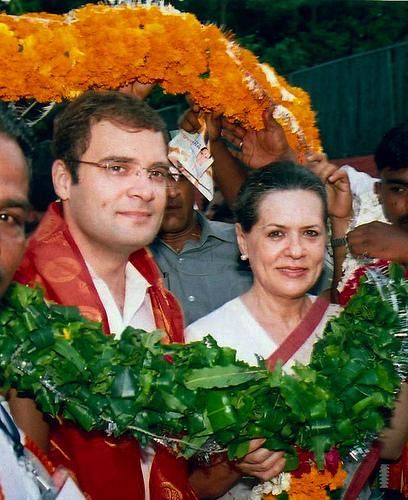 Rahul & Sonia Gandhi