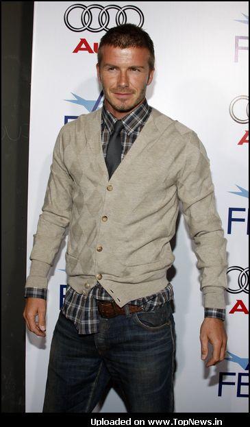 David Beckham  Photo Session
