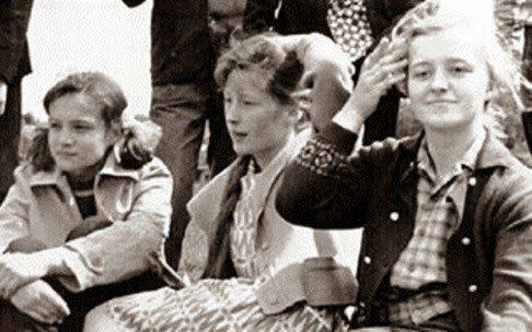 Будущая примадонна, выпускница московской школы №496, 1964 год