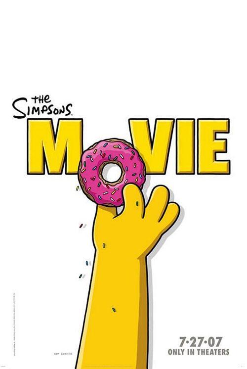 «Самым интригующим постером 2007» стал постер к  фильму «Симпсоны в кино» (Simpsons the Movie).