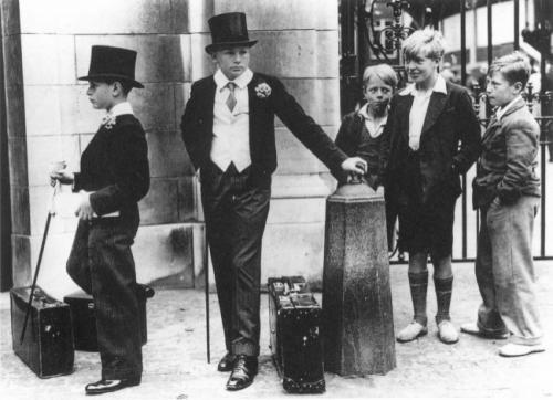 Классовые различия, Великобритания, 1937.