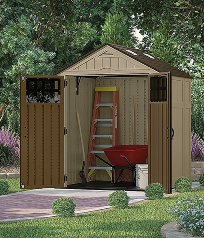 Best Storage Sheds On The Market - Suncast BMS6510D Blow Molded Resin Backyard Shed