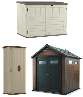 Different Types Of Outdoor Storage Sheds