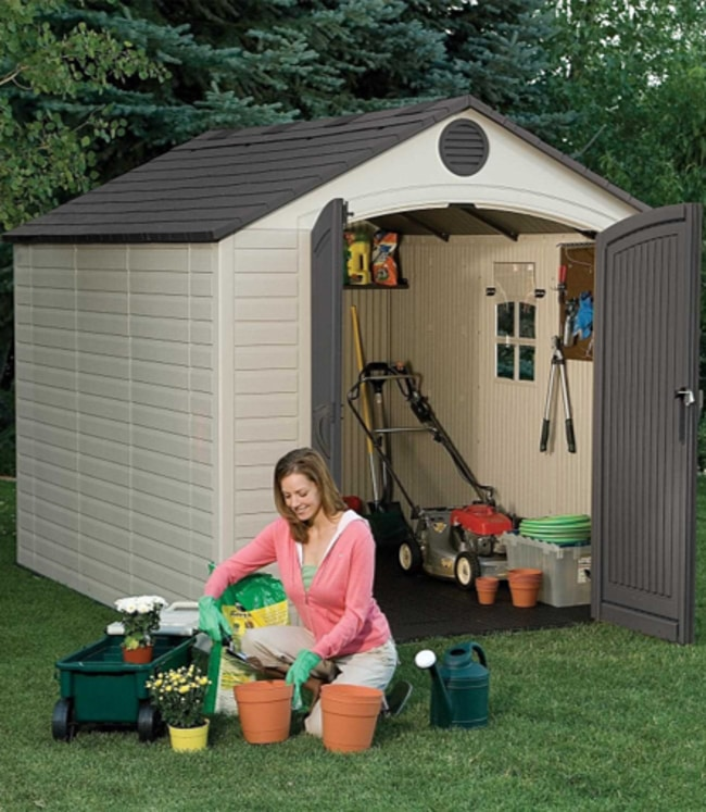 Lifetime 6405 8 x10ft Outdoor Storage Shed