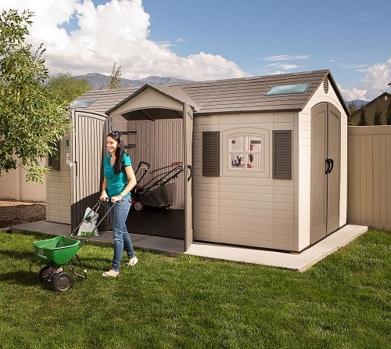 Lifetime Outdoor Storage Sheds