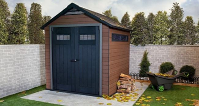 Composite Outdoor Storage Sheds
