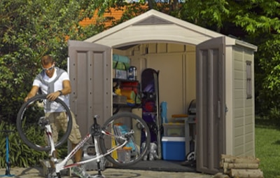 Top Storage Shed - Keter Factor Large Garden Storage Shed