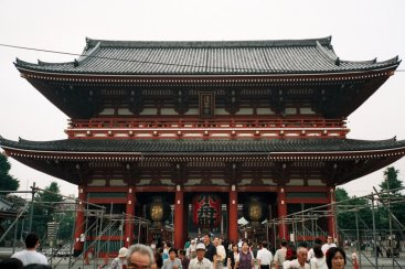 The Hozomon Gate at Sensoji