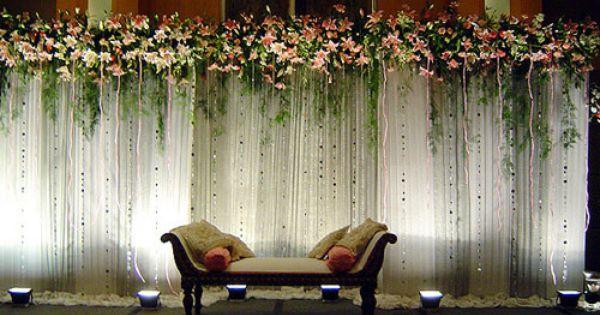 Decoration Wedding Party 25th Anniversary
