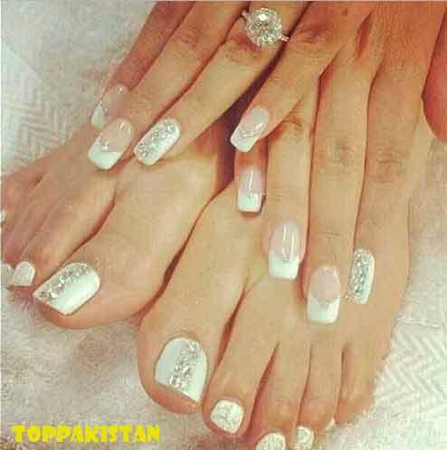 Wedding Nail Art Designs 2017