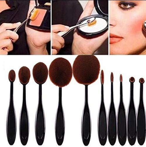 Diffe Types Of Makeup Brushes And Their Uses