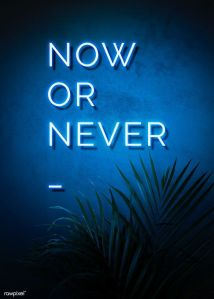 Download premium psd of Neon blue now or