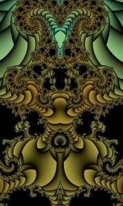 Fractal fountain detail by