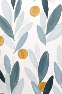 How to Paint Over Wallpaper in a