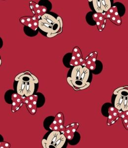 Minnie Mouse protective face