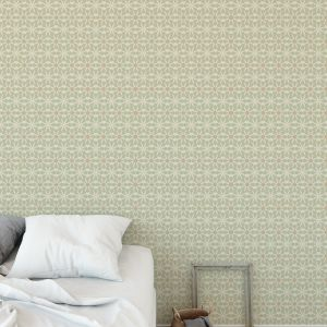 TONAL BLOOMS Peel and Stick Wallpaper By