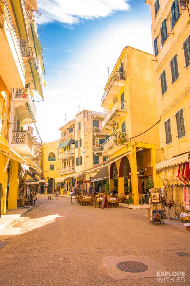 The colours and character of Corfu Town, Greece - Explore With Ed