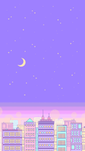 Awesome Purple Pastel Aesthetic Wallpape