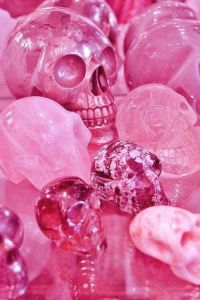 Pink Thing of The Day: Pink Skulls!