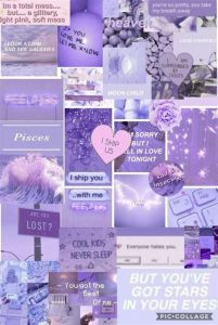 Purple Collage In 2020 | Iphone Wallpape