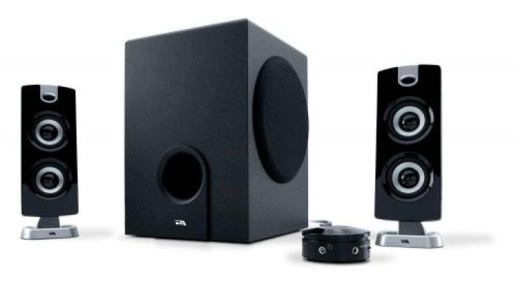 Cyber Acoustics 30 Watt Powered (CA-3602a) Speakers with Subwoofer