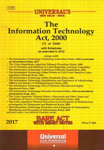 The Information Technology Act, 2000, Edition-2017