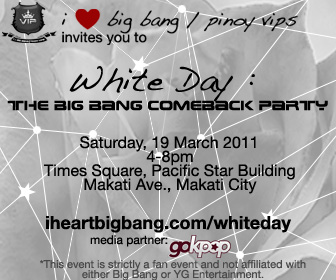 White Day: The Big Bang Comeback Party