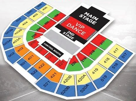 Big Bang Made Tour Manila seat plan