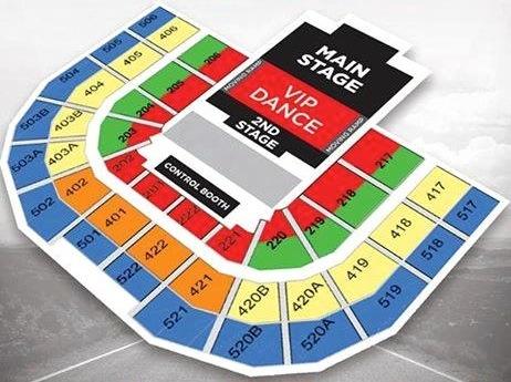 Big Bang Made Tour Manila seat plan