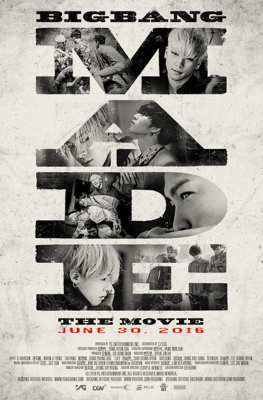Big Bang MADE movie poster