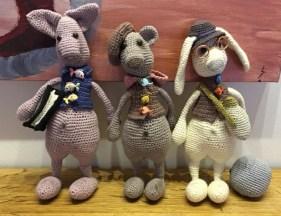 Hare – Kat og Bjørn fra Little Owls Hut - Af Linda Maria Trasbo