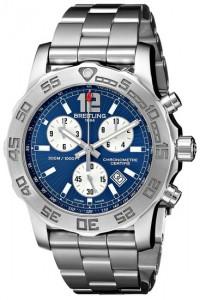 Breitling Men's BTA7338710-C848SS Colt Chronograph II Analog Display Quartz Silver Watch