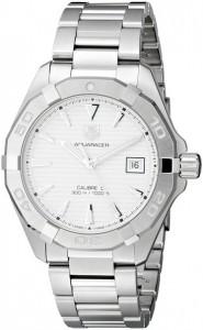 TAG Heuer Men's WAY2111.BA0910 Analog Display Swiss Automatic Silver Watch
